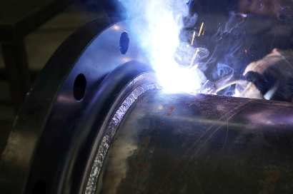 Carbon Steel Pipe Welding - Oil / Gas Industry